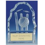 Cricket Crystal Trophy KK253